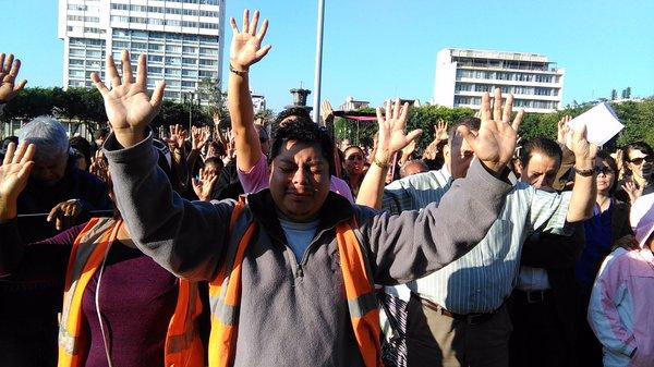 Piden a Dios por el bienestar de Guatemala