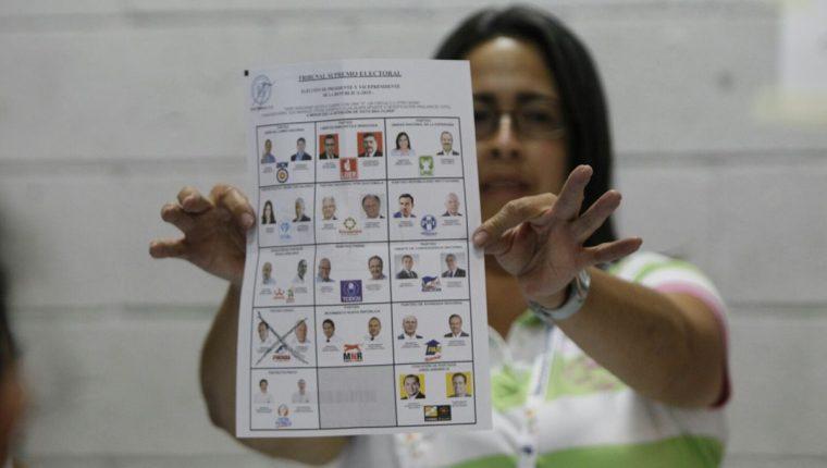 De no estar inscritos los candidatos no aparecerán en la papeleta el las elecciones del 16 de junio. (Foto Prensa Libre: Hemeroteca PL)