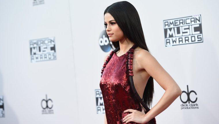 Selena Gómez recibió un comentario despectivo por parte del diseñador Stefano Gabbana (Foto Prensa Libre: AFP).