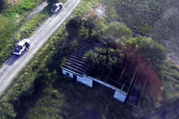 Vista del Rancho en San Fernando,  Tamauilipas, México, en  donde fueron descubiertos los cadáveres de 72 migrantes asesinados. (Archivo)