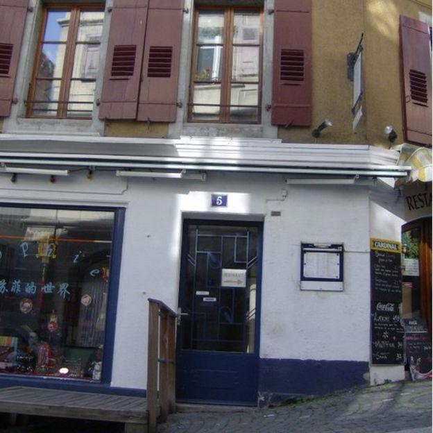 Enriqueta nació en esta casa en Lausana, Suiza el 1 de abril en 1791. Era hija de Louis Elie Favez y Jeanne Elisabeth Cavent. (Foto: Cortesía de Julio César González Pagés)