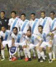 Este es el último once que jugó en el Doroteo Guamuch Flores frente a San Vicente y las Granadinas. (Foto Prensa Libre: Hemeroteca PL)