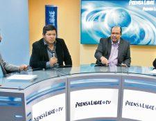 Juan Orozco, del comando de campaña de FCN-Nación, y Orlando Blanco, jefe de campaña de UNE, se comprometieron, al final del Diálogo Libre, a evitar descalificación y a priorizar la propuesta.