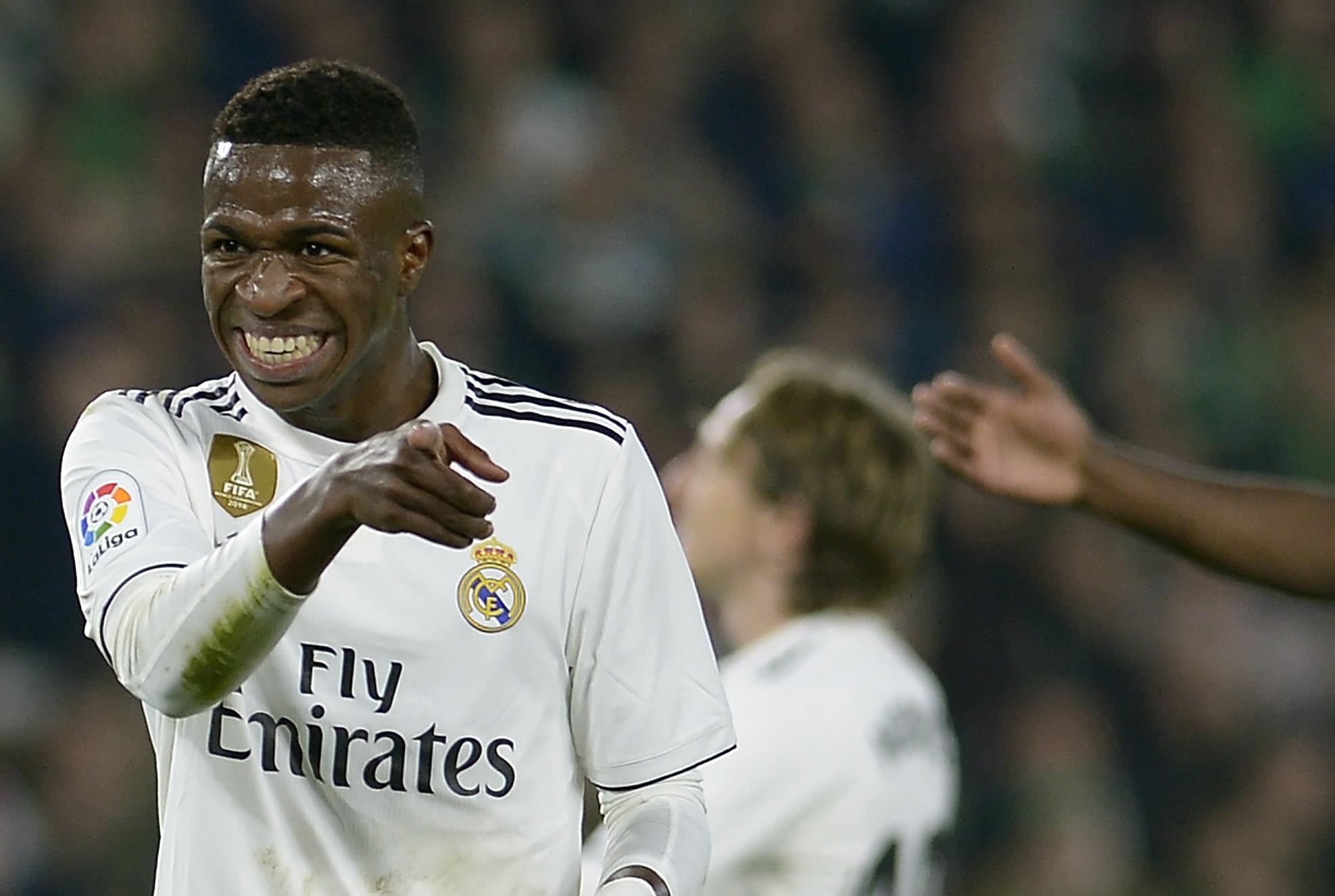 Vinicius llegó al Real Madrid al inicio de la temporada 2018-2019.