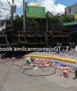 Se desconoce cómo se originó el accidente. (Foto Prensa Libre: Amílcar Montejo)