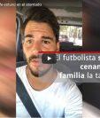El futbolista español Edu Oriol presenció el atentado terrorista en Barcelona. (Foto Prensa Libre: Instagram)
