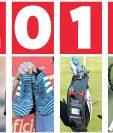 Los implementos de los deportistas al final de la temporada, son un reflejo del esfuerzo que ponen en cada competencia. (Foto Prensa Libre: Hemeroteca)