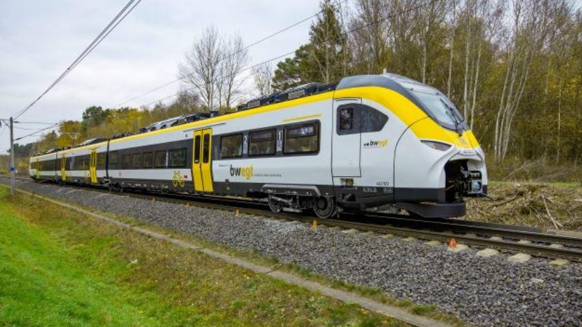 Modelo de uno de los trenes Mireo de Siemens que comenzará a operar en Alemania en 2020. (Foto: Siemens)