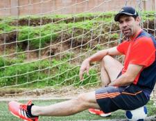 Édgar Estrada es uno de los recordados seleccionados nacionales. (Foto Prensa Libre: Hemeroteca PL).