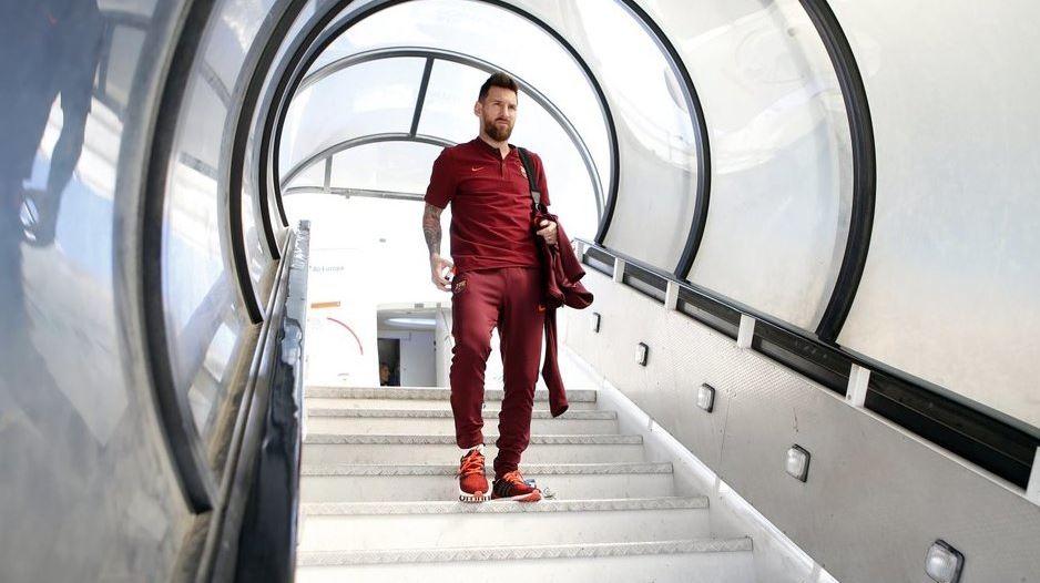 """""""Bienvenido señor Messi"""" a la tierra de Cristiano Ronaldo"""