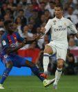 Umtiti afirma que el Barcelona como equipo grande merece más títulos. (Foto Prensa Libre: Hemeroteca PL)