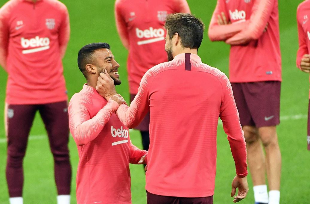 Rafinha Alcántara, jugador del Barcelona, fue llamado a la Selección de Brasil. (Foto Prensa Libre: AFP).