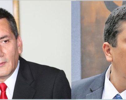 Diputados Roberto Villate, exsecretario general del extinto partido Líder (izquierda), y Gustavo Medrano, del extinto Partido Patriota. (Foto: Hemeroteca PL)
