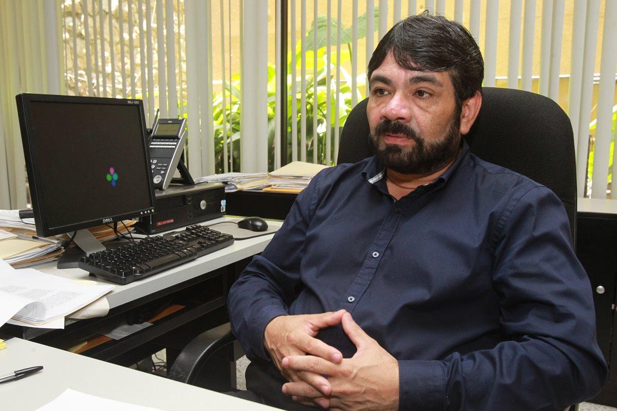 Julio Figueroa asumió la dirección en febrero de 2015. (Foto Prensa Libre: Hemeroteca PL)