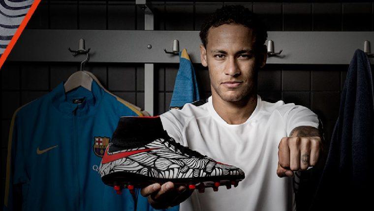 Departamento puntada invención  Neymar presenta sus nuevos zapatos Nike Hypervenom – Prensa Libre