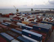 El puerto Santo Tomás de Castilla es el más importante de Guatemala en la costa atlántica. (Foto Prensa Libre: Hemeroteca PL)