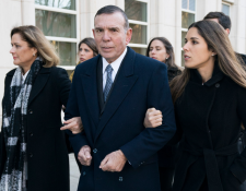 El paraguayo Juan Ángel Napout es sentenciado en Nueva York por nueve años por el FifaGate. (Foto Prensa Libre: AFP)