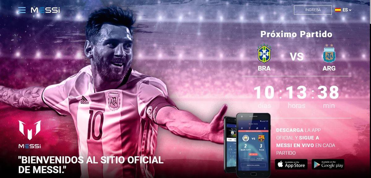 Leo Messi lanza su nueva plataforma digital