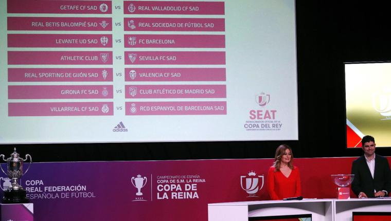 El próximo año se jugarán los octavos de final de la Copa Rey. Barcelona y Real Madrid se enfrentarán contra el Levante y el Leganés. (Foto Prensa Libre: EFE)