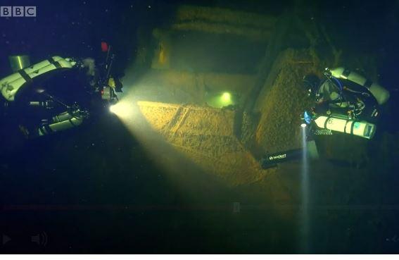 Franken, el barco nazi hundido en la Segunda Guerra Mundial que es una bomba de tiempo ecológica