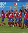 Deportivo Xela hizo su mejor actuación en una fase de clasificación al quedar en primer lugar de la tabla general con 30 puntos. (Fotos Prensa Libre: Raúl Juárez)