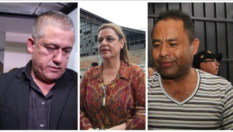Anahy Keller, Carlos Rodas y Santos Torres son acusados por la muerte de las niñas del Hogar Seguro. (Foto Prensa Libre: Hemeroteca PL)