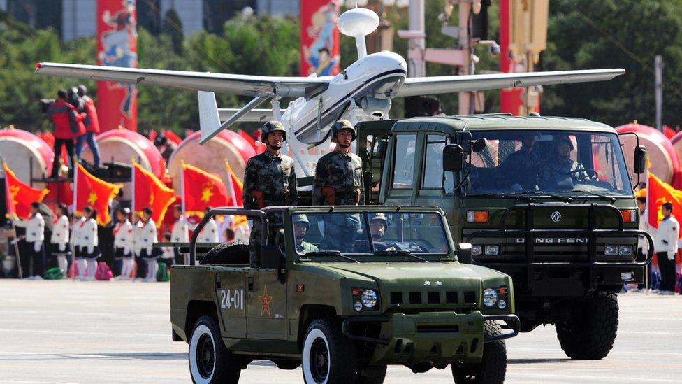 Tres nuevas armas de alta tecnología de China con las que desafía el poderío de EE. UU. y Rusia
