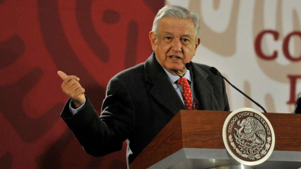 López Obrador está recuperando una antigua práctica de la diplomacia mexicana. GETTY IMAGES