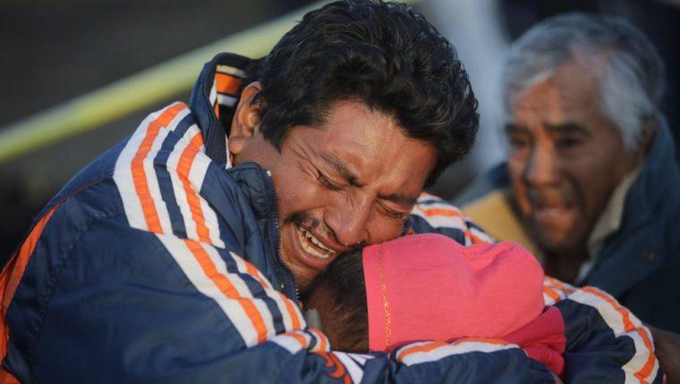 Muchos todavía no saben qué pasó con sus familiares tras la explosión. GETTY IMAGES