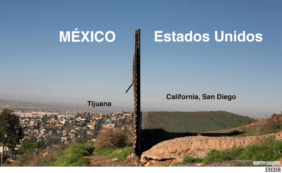 Incluso el propio presidente de Estados Unidos ha cambiado su visión del muro. GETTY IMAGES