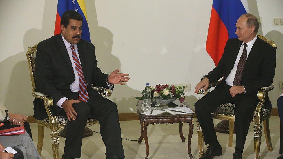 Maduro viajó recientemente a Rusia para ultimar acuerdos bilaterales con el gobierno de Putin. AFP