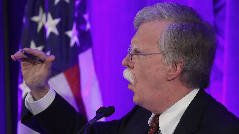 En diciembre Nicolás Maduro acusó a John Bolton de tramar un plan para asesinarlo.