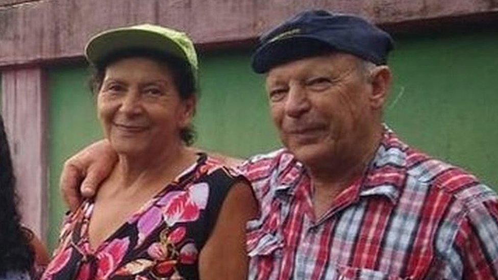 Vera y Geraldo lograron ponerse a salvo de la destrucción que dejó la rotura de la represa en Brumadinho.