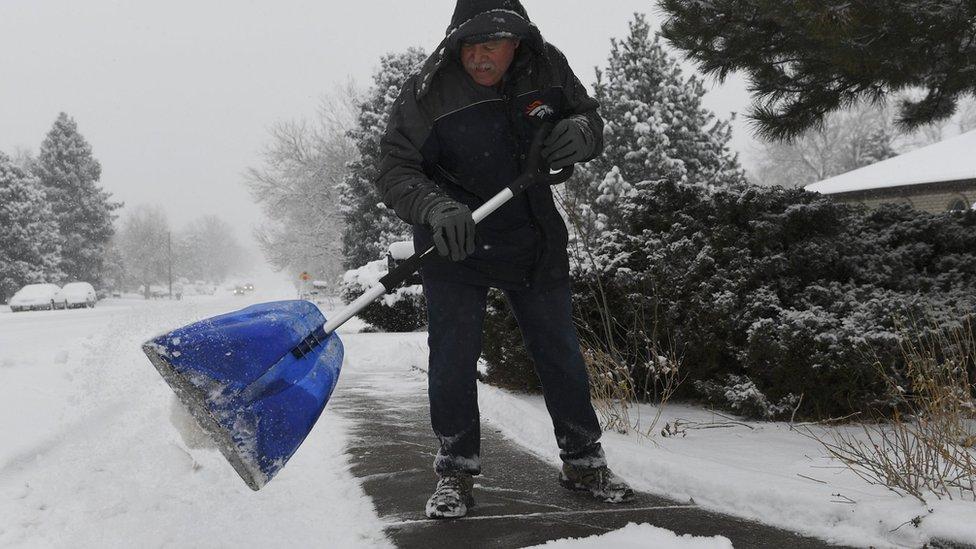 Se pronostica que decenas de millones de personas experimentarán temperaturas bajo cero.