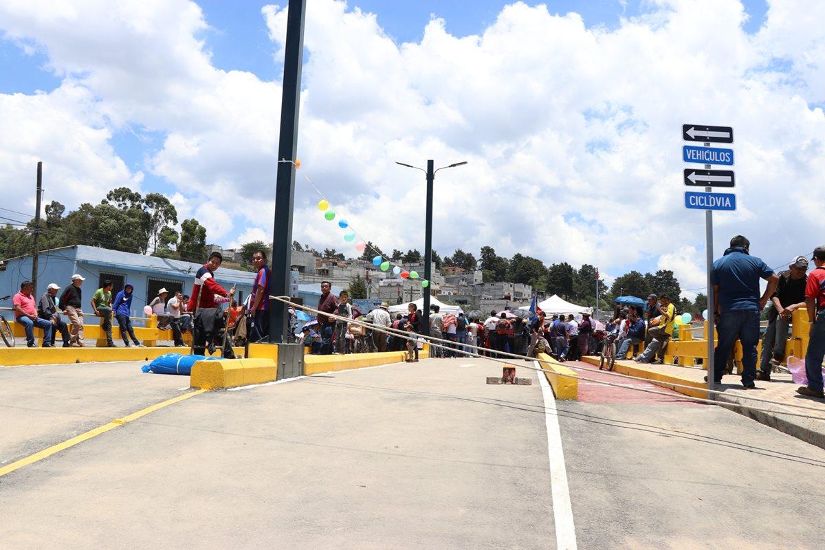 Alcalde asegura que la construcción del puente Los Batanes es una obra moderna y duradera