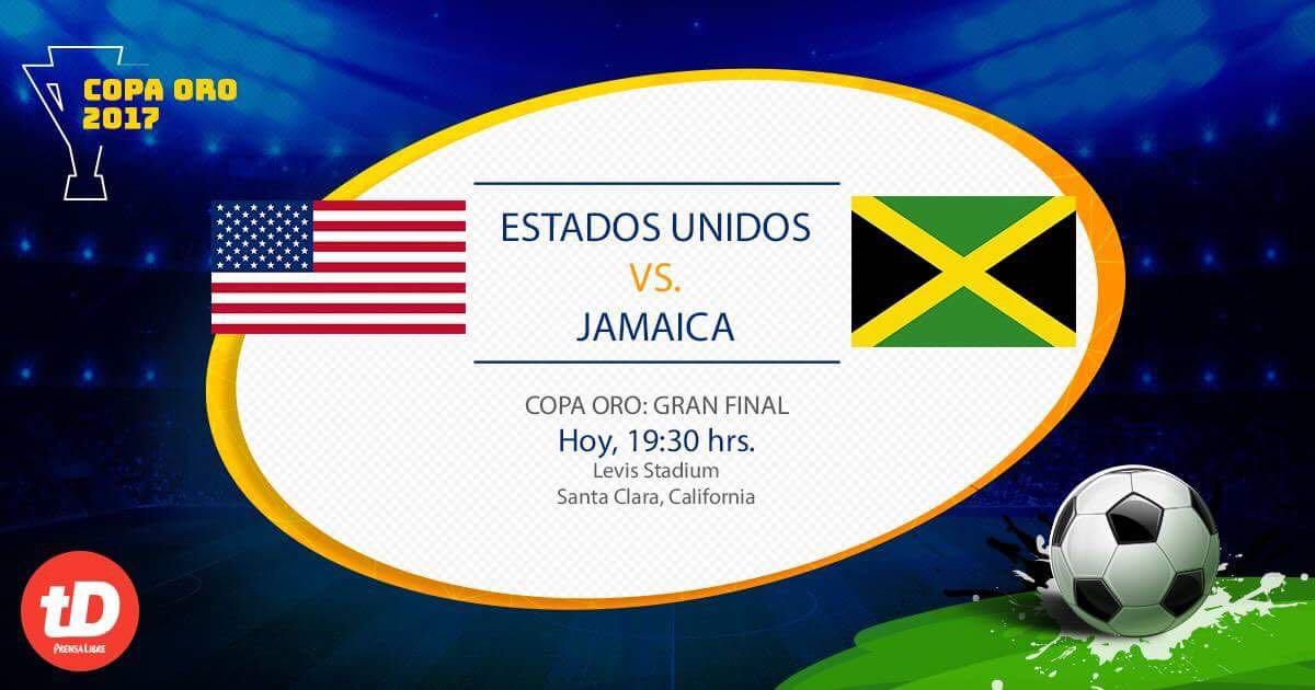 EN VIVO | Final Copa Oro: EE. UU. vs Jamaica
