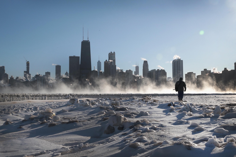 Ola de frío polar afecta varias ciudades de Estados Unidos.