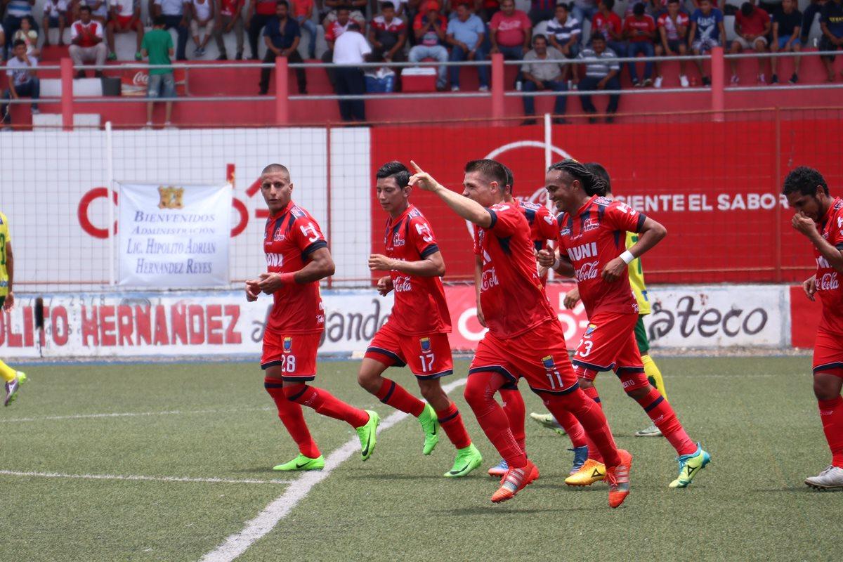 Malacateco el rompe invictos, Petapa sufrió en el estadio Santa Lucía