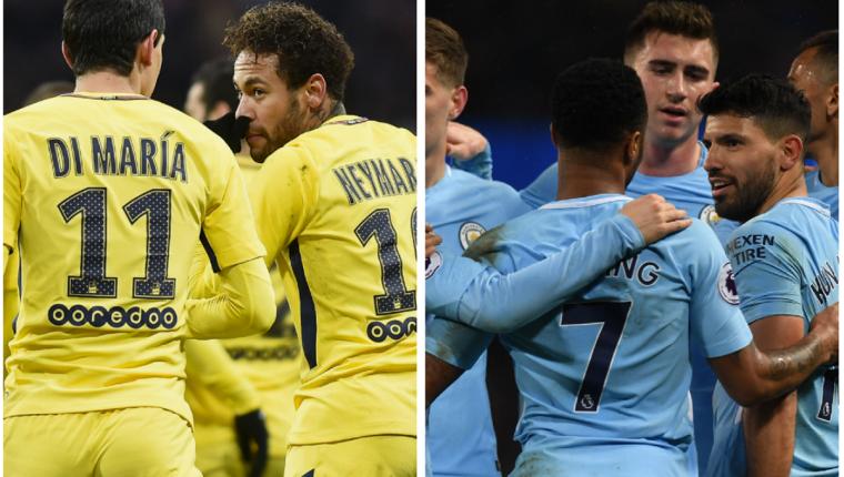 El Manchester City y el París SG son los equipos que más han invertido esta temporada en Europa. (Foto Prensa Libre: AFP)