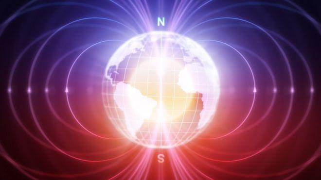 El campo magnético de la Tierra está cambiando rápidamente. GETTY