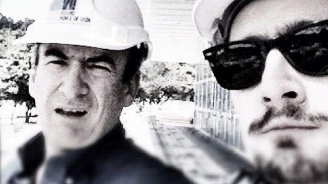 Jorge Enrique Pizano (izquierda) y Alejandro Pizano murieron con tres días de diferencia. (Cortesía de Noticias Uno/Instagram) INSTAGRAM