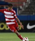 El defensa Moisés Hernández regresa a su casa, el FC Dallas de la MLS. (Foto Prensa Libre: Hemeroteca PL)
