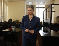 María del Rosario Melgar afronta un nuevo juicio por la muerte de su jefe, Víctor Rivera, exasistente del Ministerio de Gobernación ultimado en el 2008. (Foto Prensa Libre: Hemeroteca)