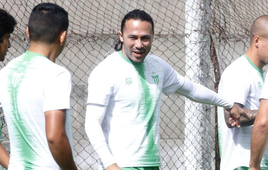 Agustín Herrera se mostró motivado por una nueva aventura con Antigua GFC. (Foto Prensa Libre: Julio Sicán).