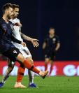 El mediocampista croata Ivan Rakitic es una baja importante para su selección que busca el pase a la final de la Liga de Naciones de la Uefa. (Foto Prensa Libre: AFP)