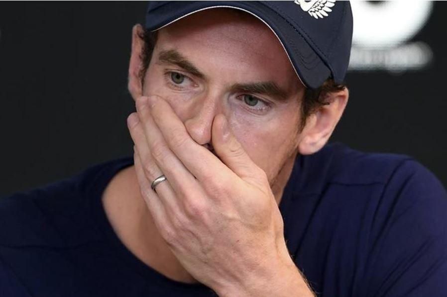 Murray, de 31 años, indicó que le gustaría poner fin a su carrera en casa, en el torneo de Wimbledon. (Foto Prensa Libre: AFP)