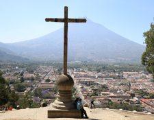 La ciudad de Santiago de los Caballeros de Guatemala (Antigua Guatemala) permanece en el Valle de Panchoy desde el 10 de marzo de 1543. (Foto Prensa Libre Julio Sicán)