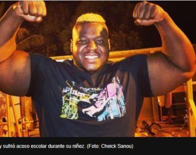 Iron Biby: el joven que pasó de sufrir acoso por ser gordo a competir por ser el hombre más fuerte del mundo