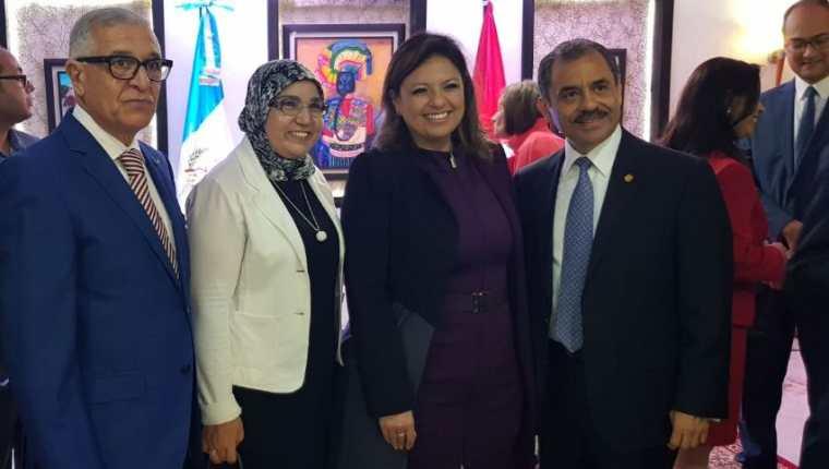 En noviembre del 2017 la Cancillería guatemalteca inauguró la Embajada de Guatemala en Rabat, Reino de Marruecos. (Foto: Ministerio de Relaciones Exteriores)