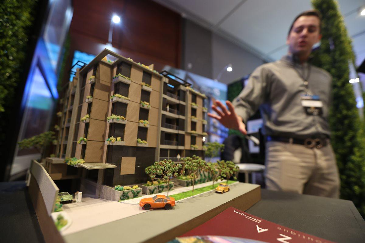 El evento Luxury Real Estate Guatemala reúne a los proyectos habitacionales del segmento premium con una amplia oferta. (Foto Prensa Libre: Esbin García)